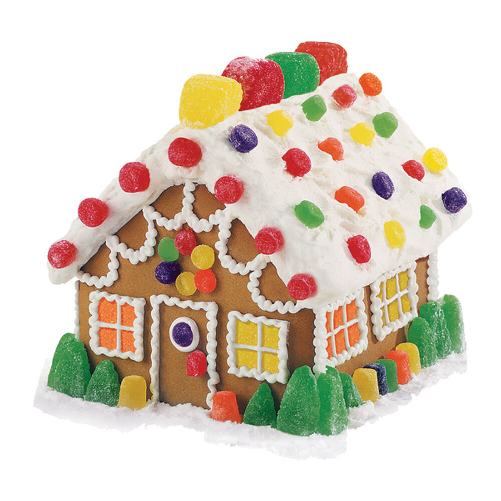 Candy Classic Gingerbread House | Wilton