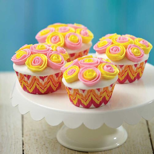 How to Make Icing Ribbon Roses