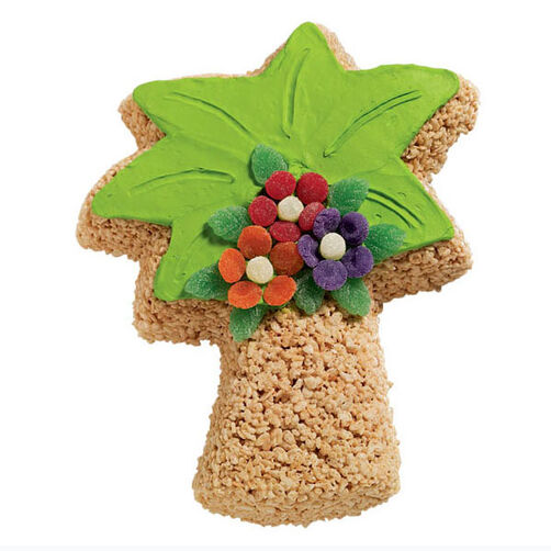 Tropical Cereal Treat Tree
