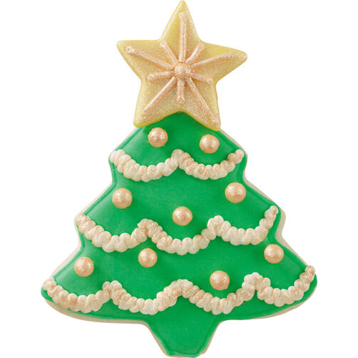 Luminous Holiday Tree Cookie