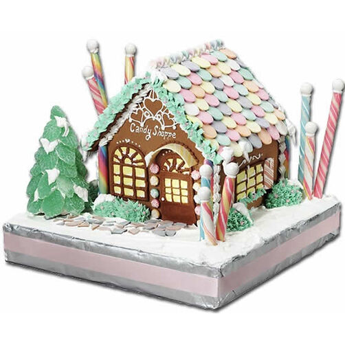 Old-Time Candy Shoppe Gingerbread House