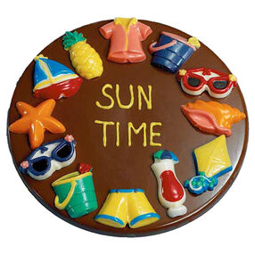Sun Time Candy Plaque