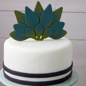 Striped Cactus Cake
