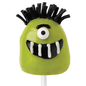 Ghastly Green Guy Brownie Pops