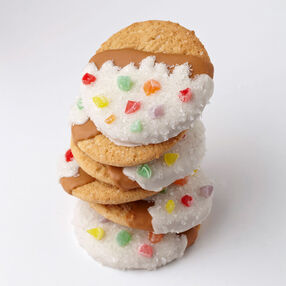 Candy-Dipped Sugar Cookies