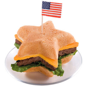 Red, White and BBQ! Hamburger