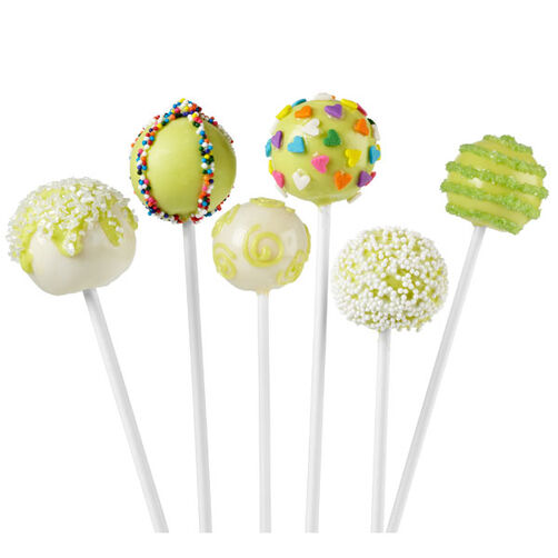 Key Lime Cake Pops