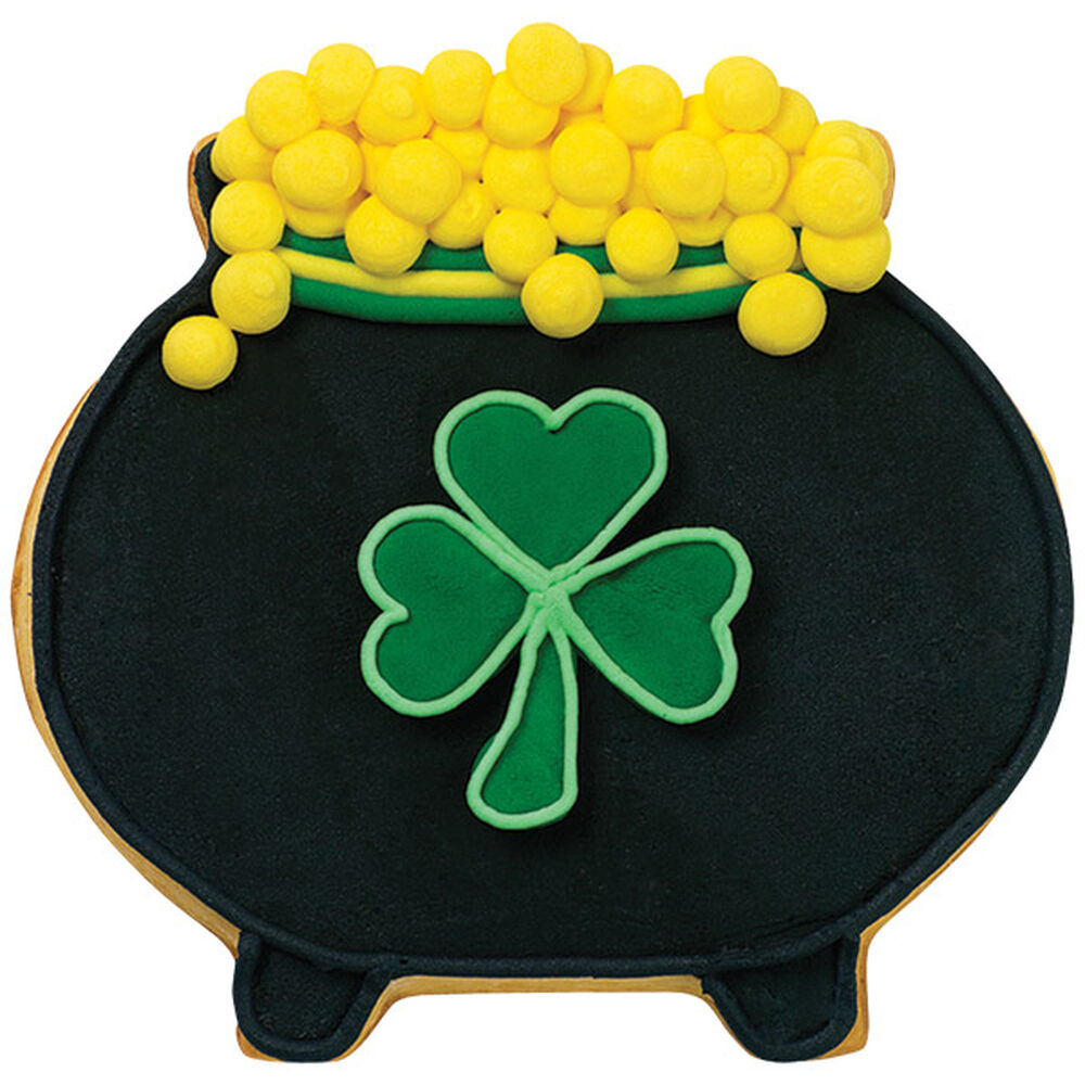 Pot Of Gold Cookie Wilton