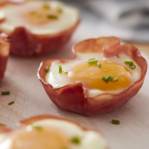 Baked Ham and Egg Cups