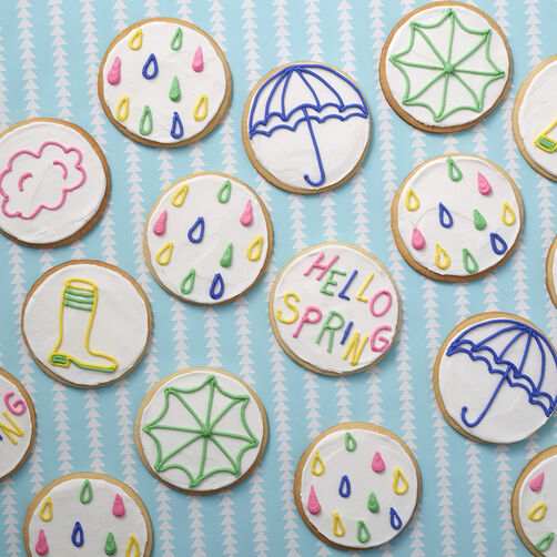 Spring Cookies that are easy for kids to decorate