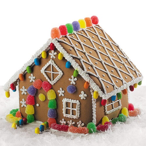 Lattice Gingerbread House Wilton