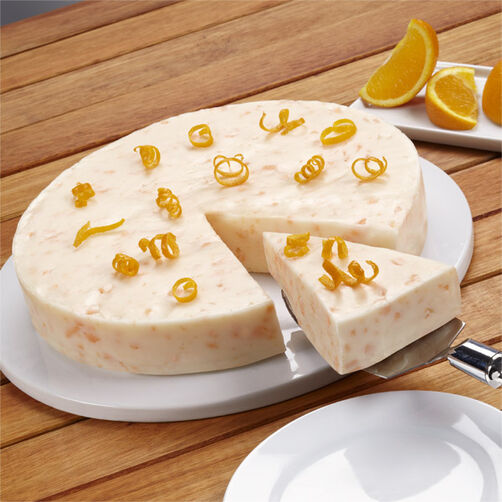 Orange Dream Ice Cream Cake