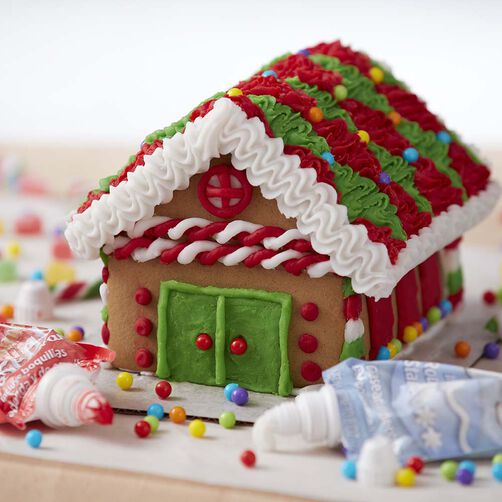 North Pole Cottage Gingerbread House