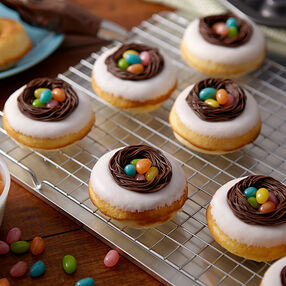 Easter Egg Nest Donuts