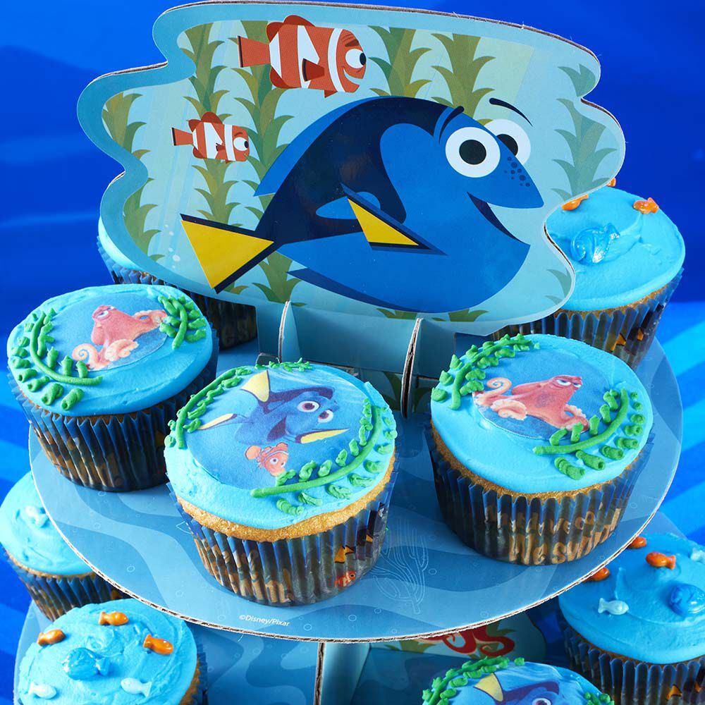 Finding Dory Cupcakes Wilton