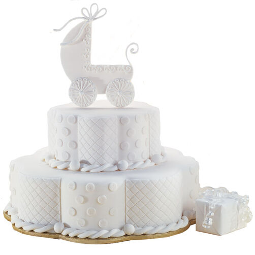Bless the Child Baby Cake