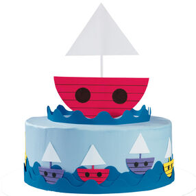 A Ship-Shape Cake