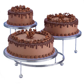 Chocolate Times Three Cake