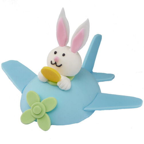 Up, Up and Away Easter Bunny Mini Cake