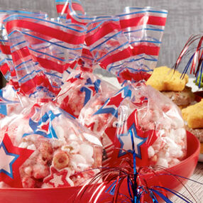 Patriot's Peanut Butter Popcorn
