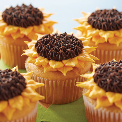 Sunflower Power Cupcakes