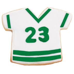 The Green Team Jersey Cookies