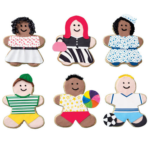 Clothes-Conscious Kids Cookies
