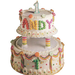 Dandy Candy Tiers Cake