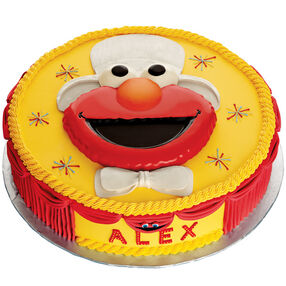 Elmo the Entertainer Cake