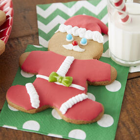 Santa Gingerbread Cookie