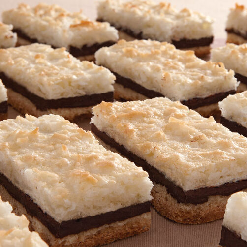 Chocolate Macaroon Bars