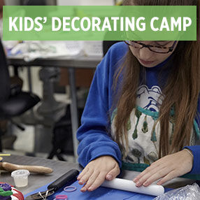 Kids' Advanced Cake Decorating Camp