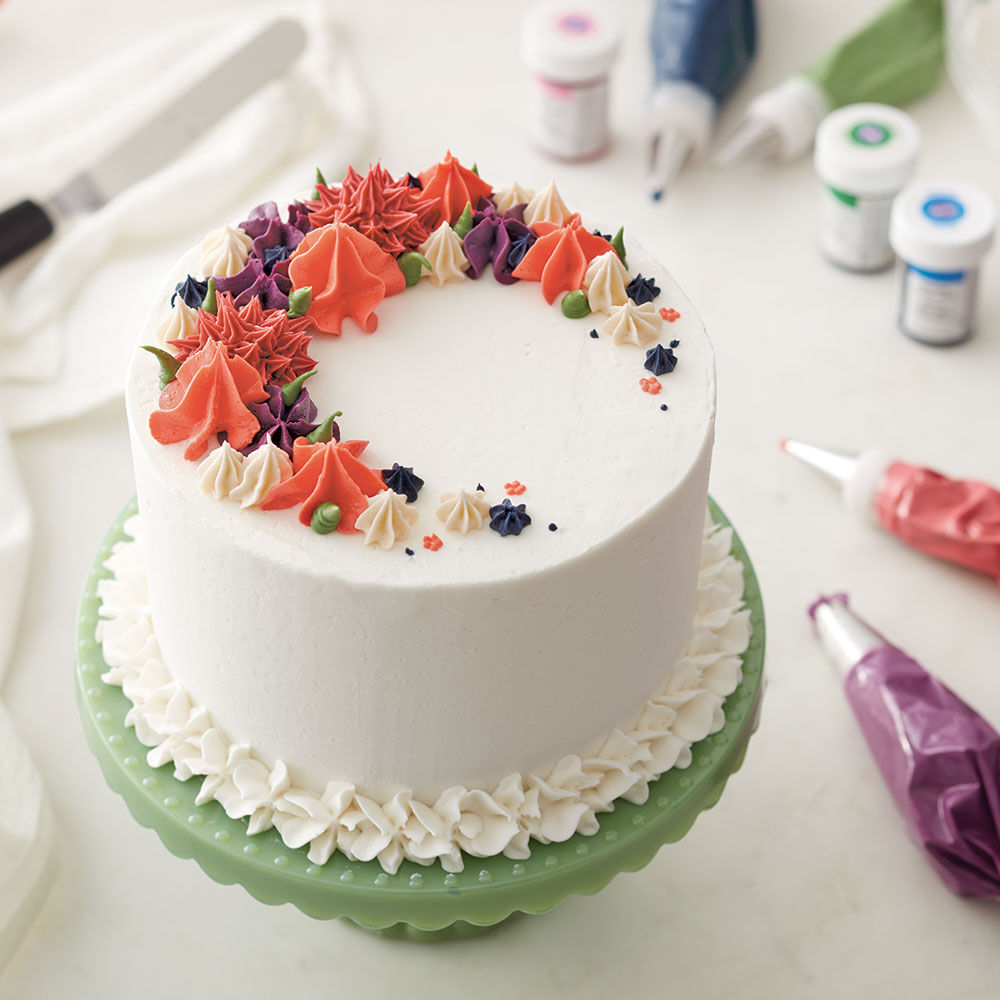 Recipes cake decorating frosting