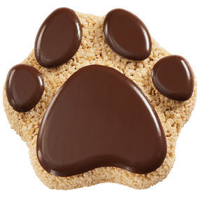 Crispy Critter Paw Cereal Treat