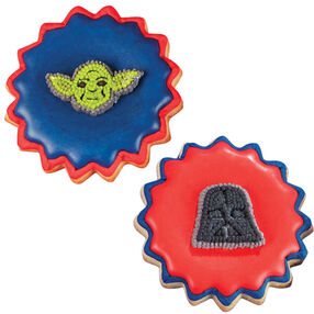 Star Wars Icing Cookies