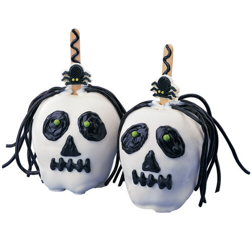 Skullduggery Candy Covered Apples