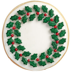 Best of the Season Wreath Cookies