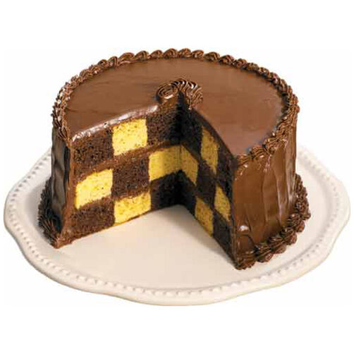 Large Checkerboard Cake