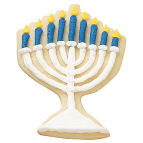 Menorah Lights Cookies