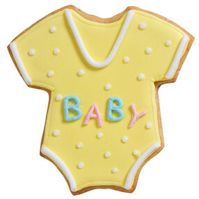 Cute Romper Baby Shower Cookies
