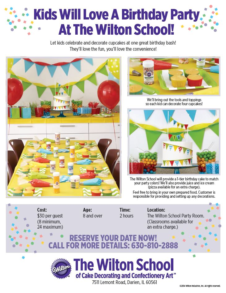 Kids Will Love A Birthday Party At The Wilton School!