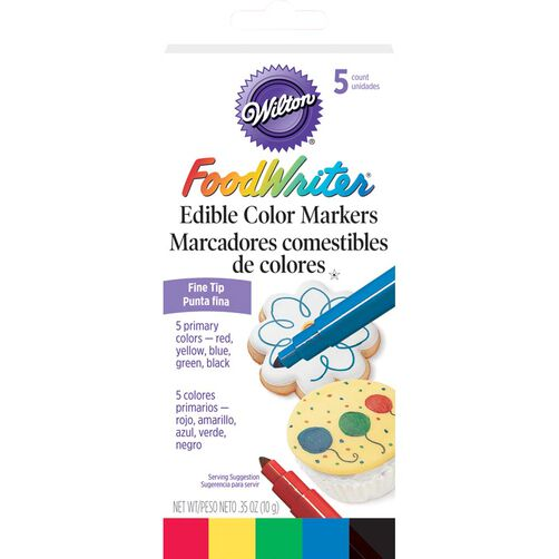 FoodWriter®  Fine Tip Edible Markers