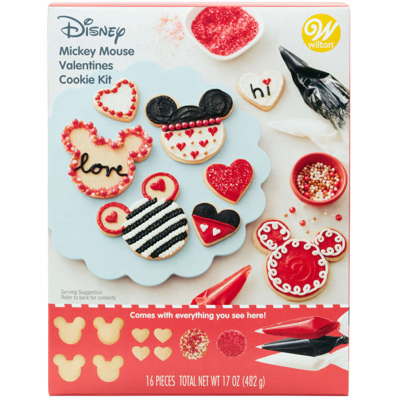 Disney Mickey Mouse Valentine's Day Cookie Kit image number 1