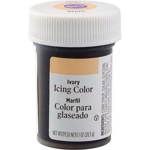 Ivory Gel Food Coloring Icing Color | Wilton