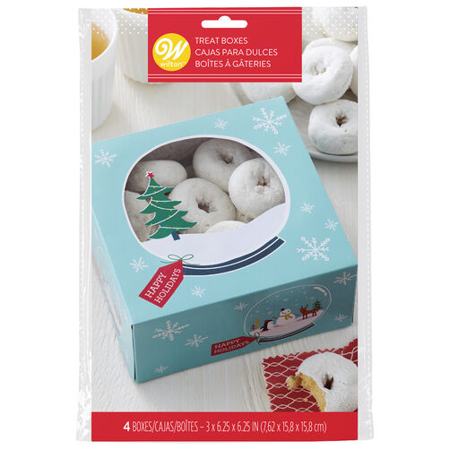 Snowman and Friends Treat Boxes, 3-Count