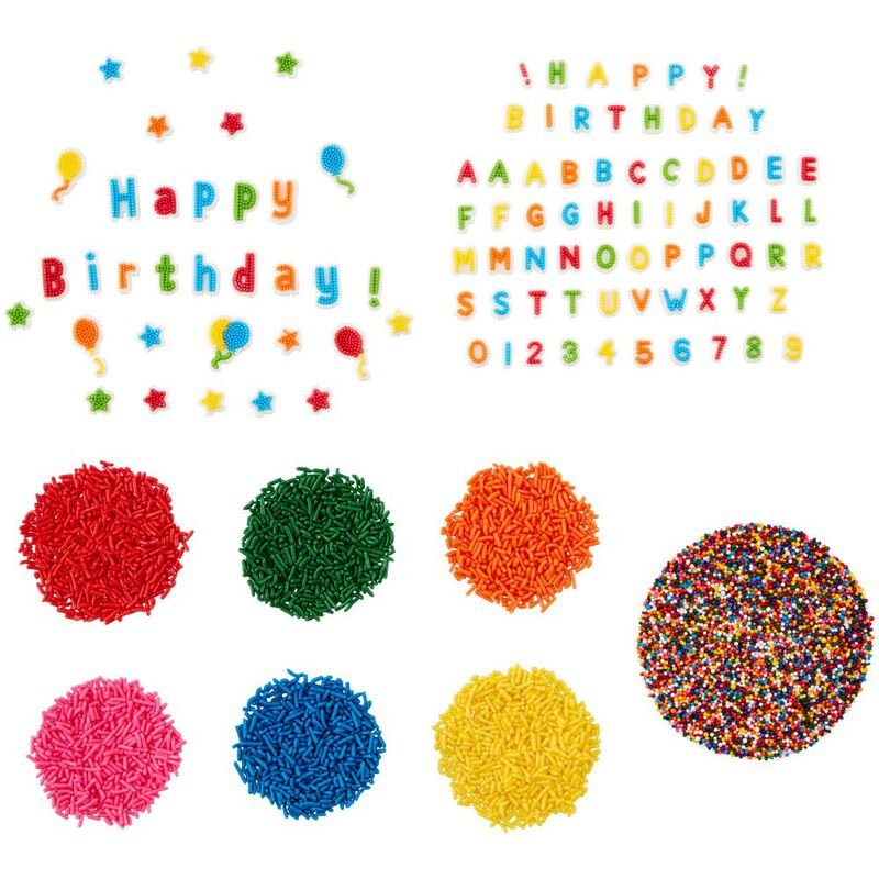 Birthday Treat Topper Set, 4-Piece image number 0