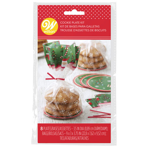 Holiday Cookie Plate Kit, 8-Count