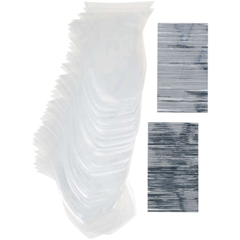 Clear Shaped Treat Bags, 100-Count image number 0