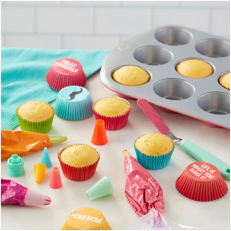 Rosanna Pansino by Non-Stick Muffin Pan, 12-Cup image number 5