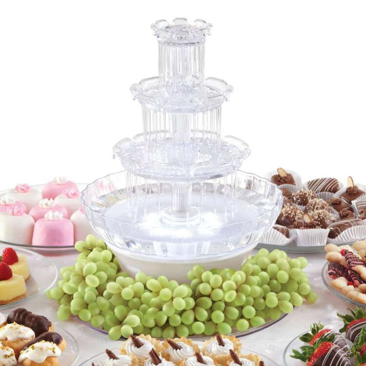 Treat Table with Mini Water Fountain